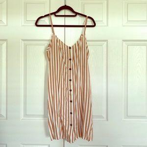H&M tank striped dress